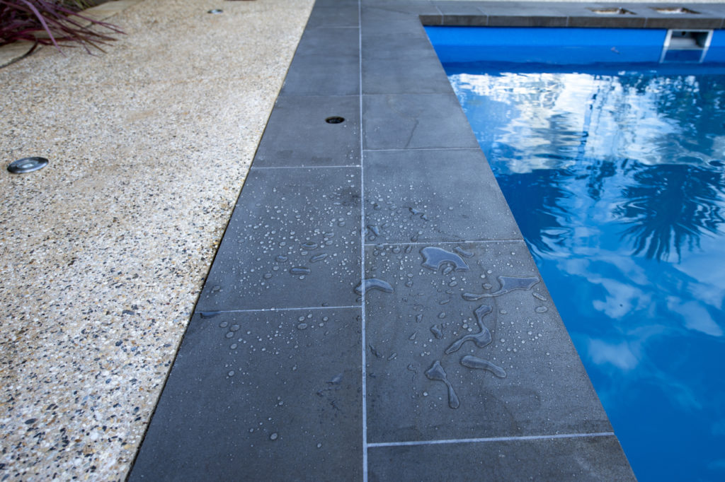 Natural stone cleaning & sealing