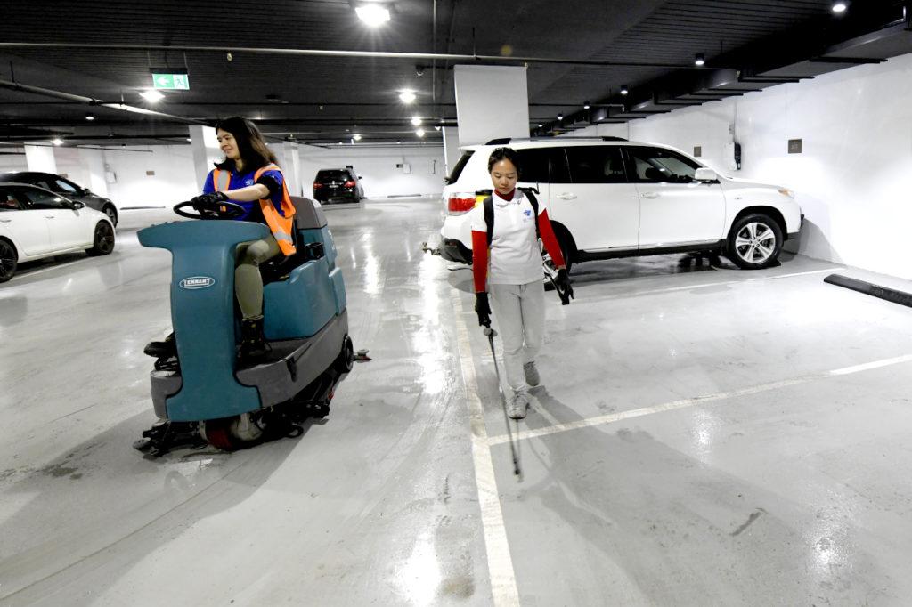 Carpark cleaning Melbourne